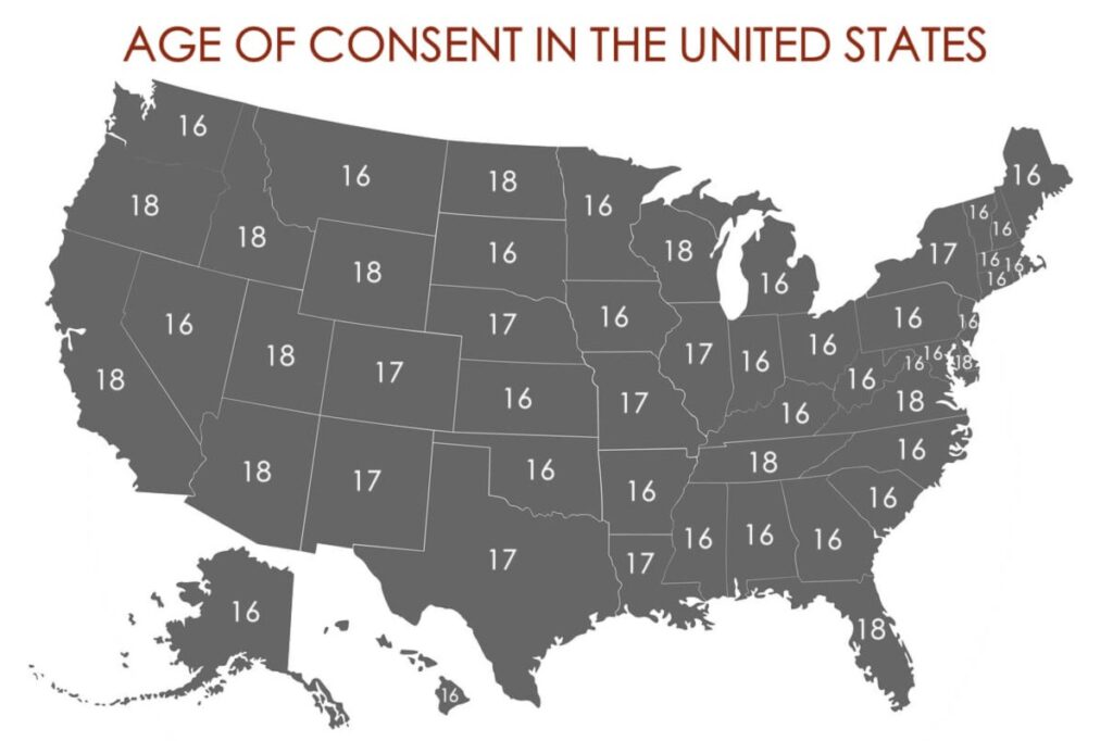 Age Of Consent In The United States